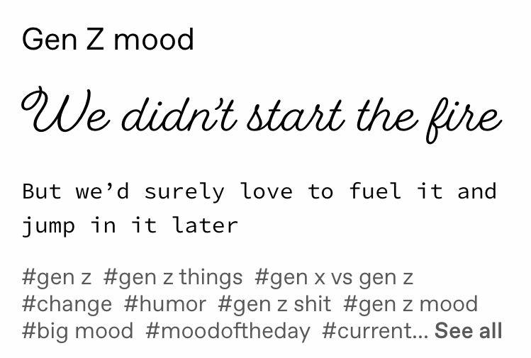 Gen Z Mood Funny Relatable Memes Tumblr Funny Haha Funny