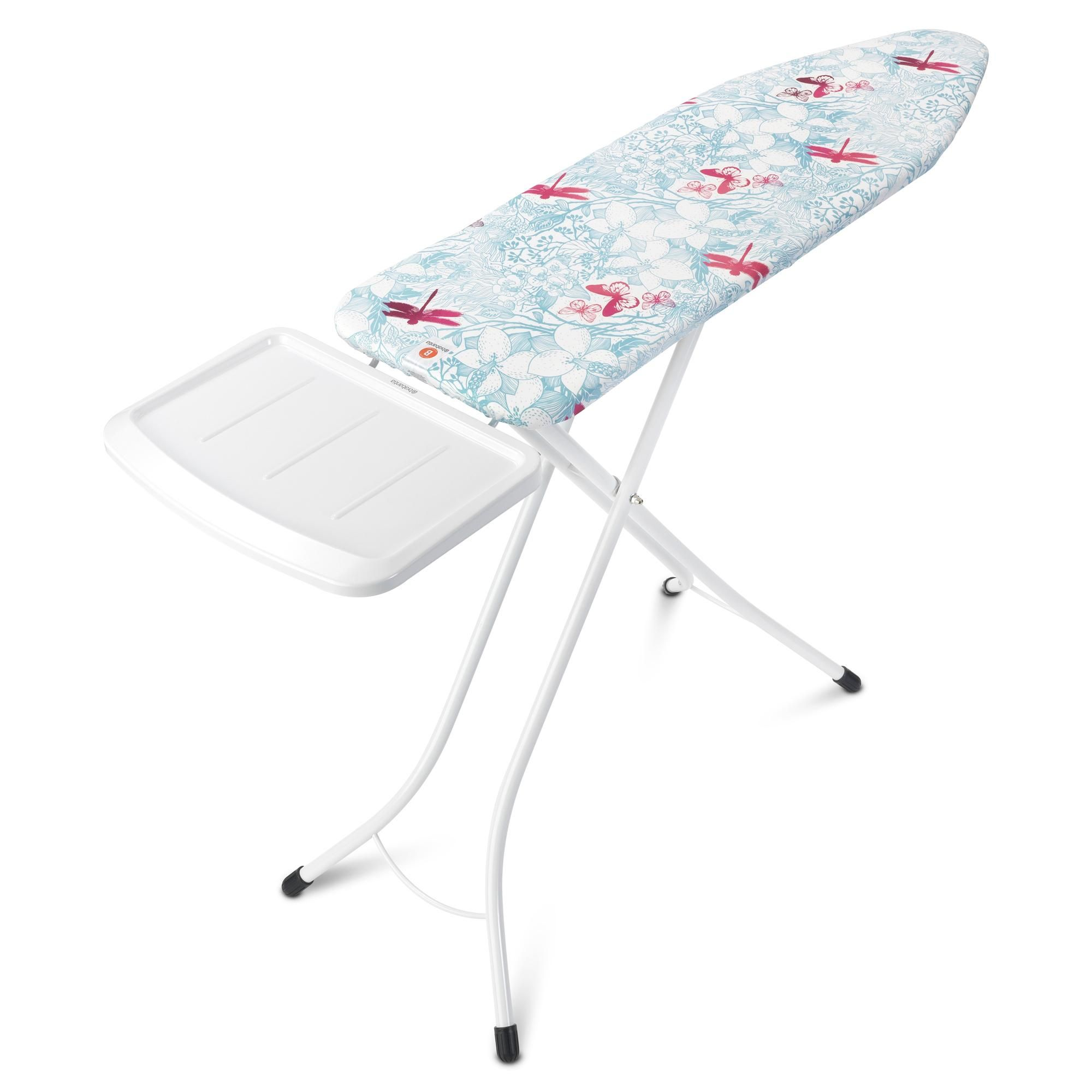 Brabantia Botanical Ironing Board With Solid Steam Unit Holder In