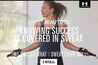 #WhatsBeautiful #fitfluential #underarmour
