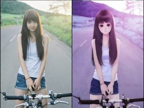 Pin By Sweej On Drawing Reference Anime Hairstyles In Real Life Anime Vs Real Life Anime