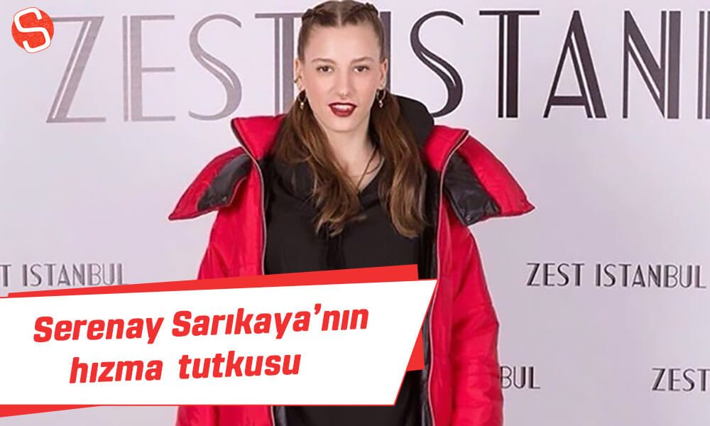 Serenay Sarikaya Nin Hizma Tutkusu Serenaysarikaya Hizma Unluler