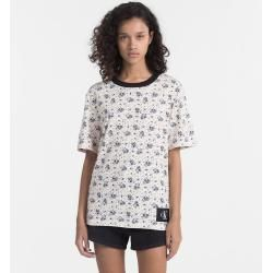 Photo of Outlet – Calvin Klein Floral bedrucktes T-Shirt L Calvin KleinCalvin Klein