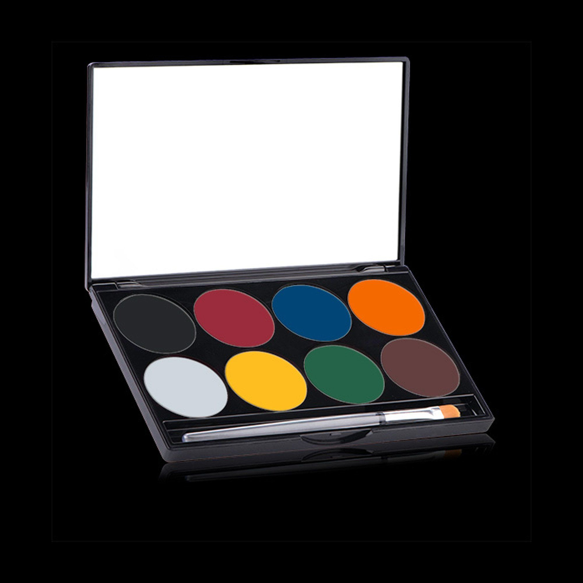 Mehron Paradise Makeup AQ Face Paint Palette Basic Red