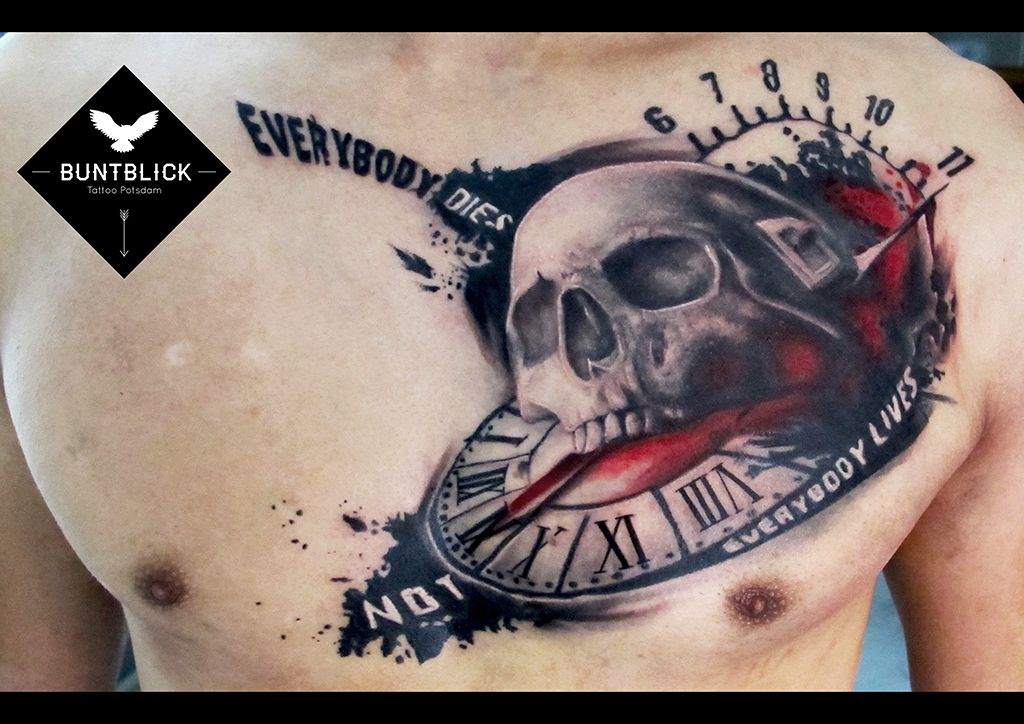 Polka Trash Tattoo by Björn - http://www.buntblick-tattoo.de/