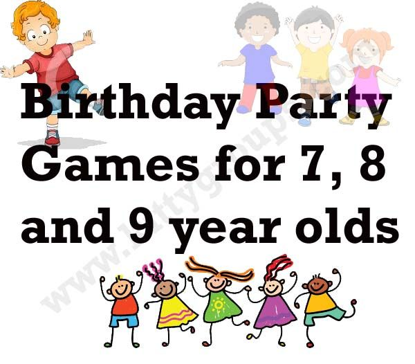 Fun Games To Play With 7 8 And 9 Years Old Children