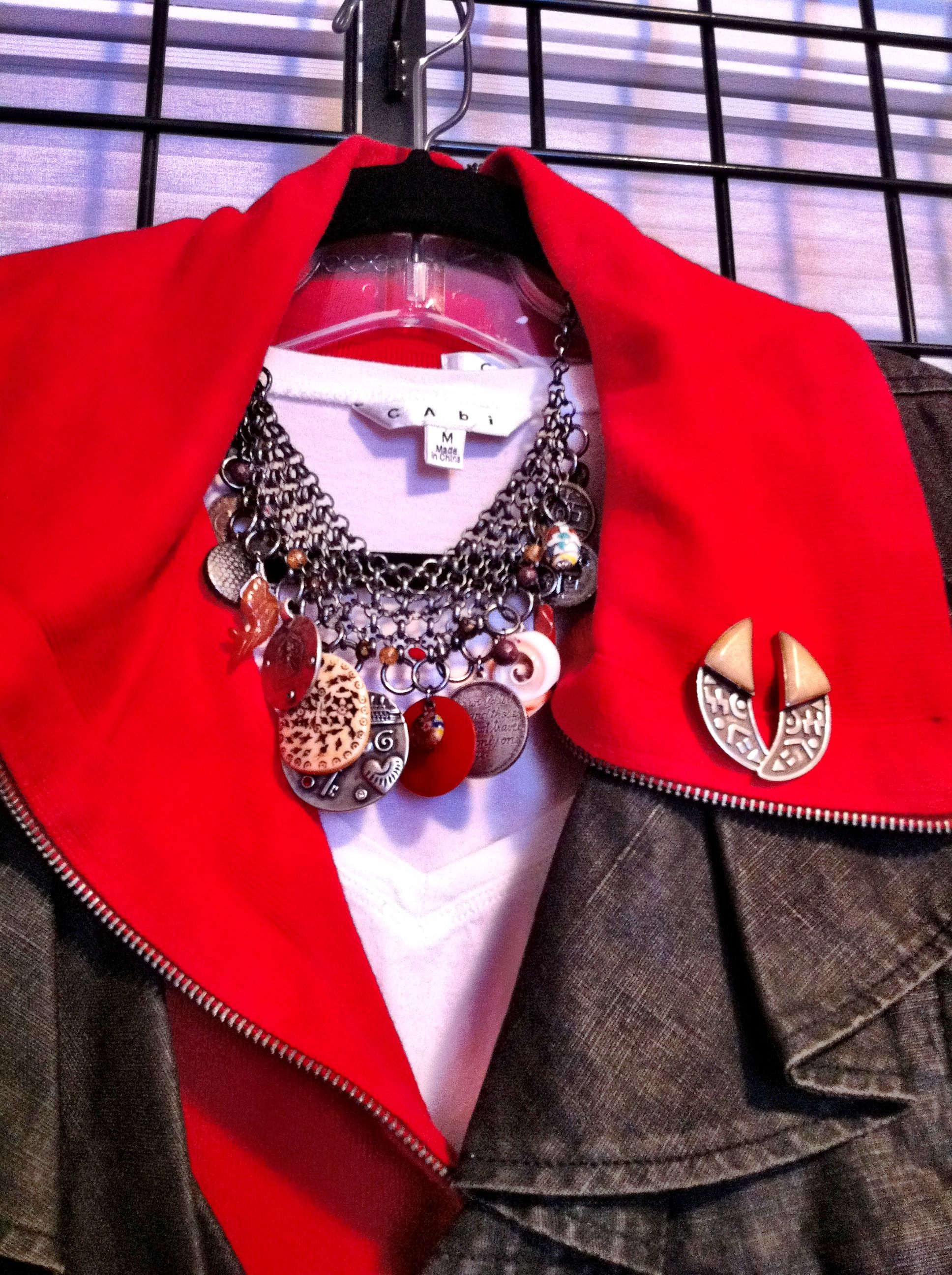 Shop my closet 3 accessories: Necklace from consignment ...