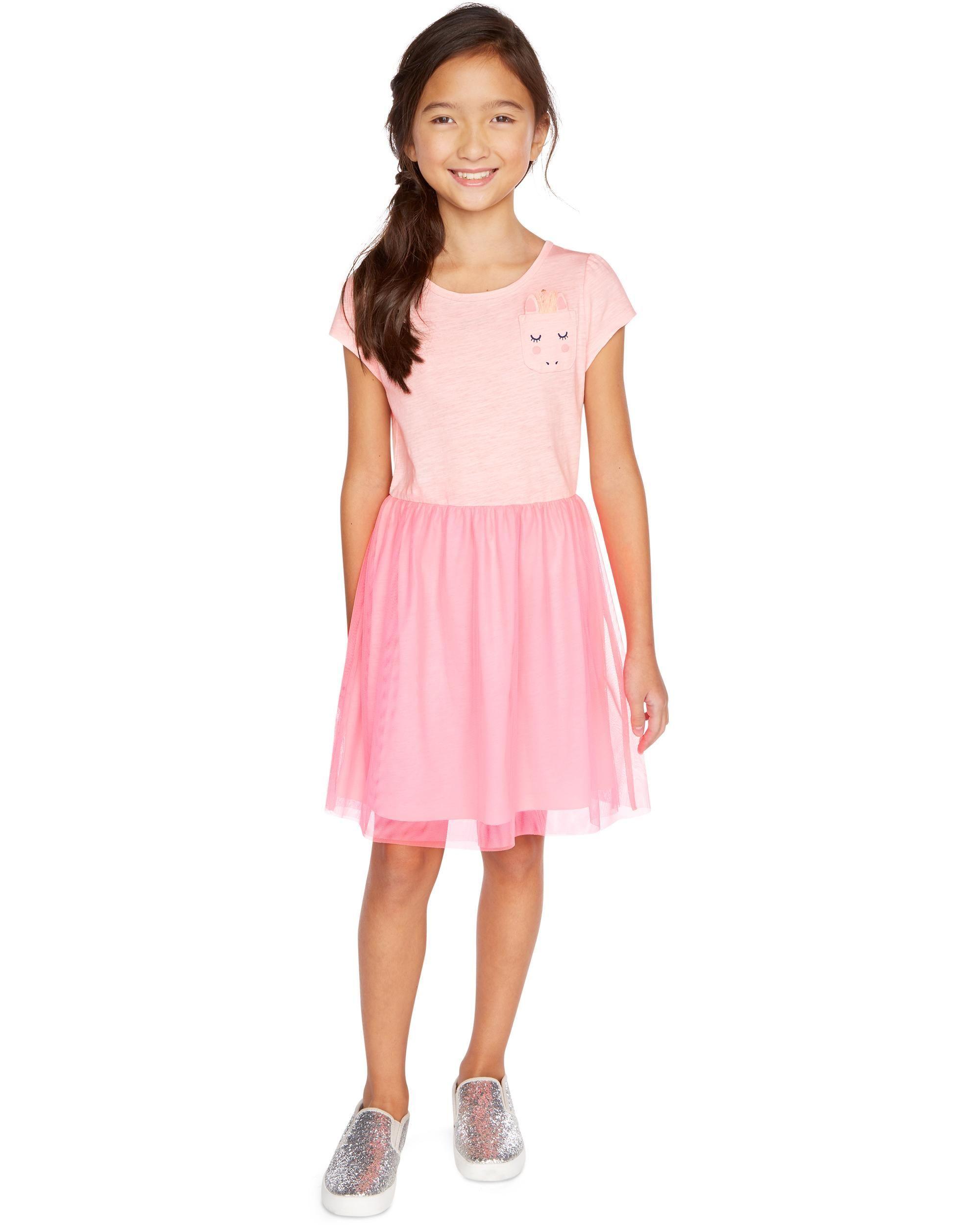 c708d1b4c9ad4 Unicorn Tulle Dress | Mackenzie's Style | Dresses kids girl, Dresses ...