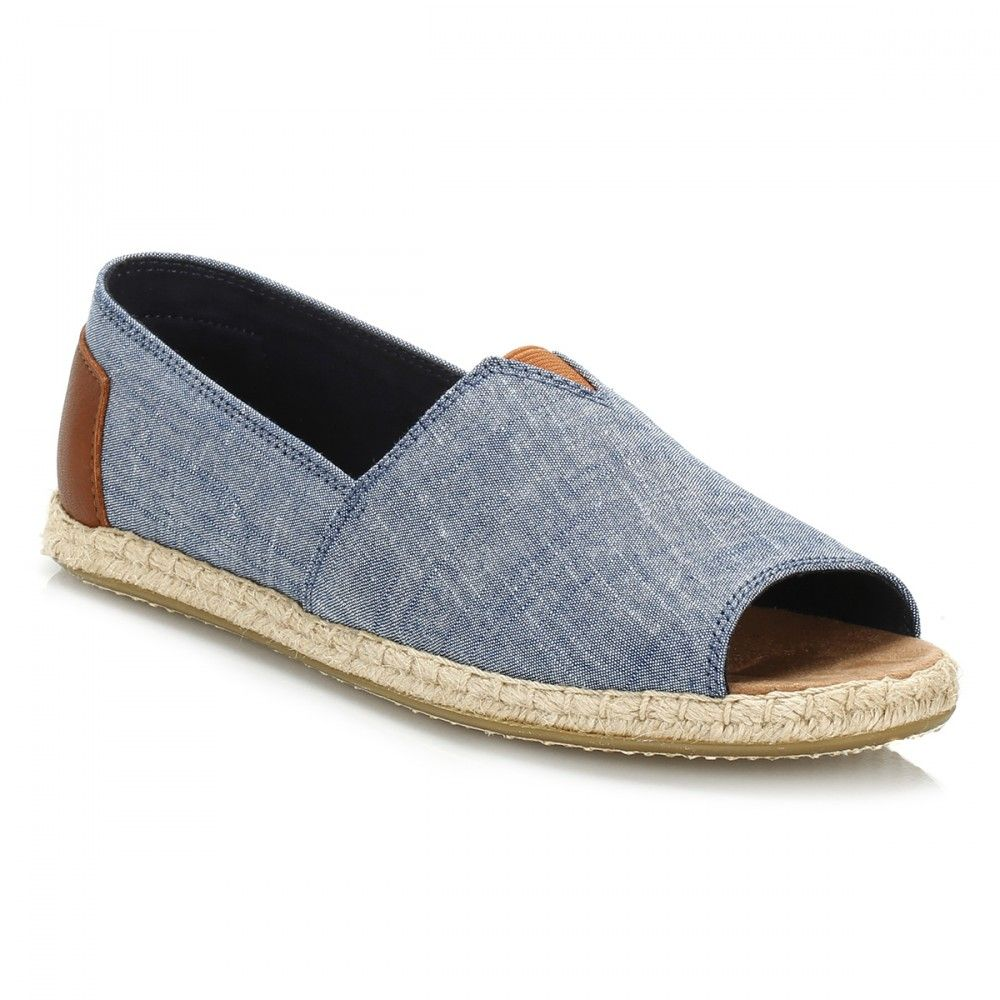 3702898cc TOMS Womens Chambray Open Toe Espadrilles | Women | New In at TOWER ...