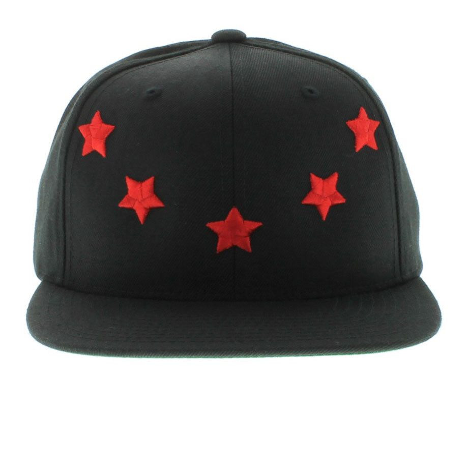 a0950b7cefd Buyer s Choice The 5 Star Snapback (Givenchy Inspired) - Black   Red  9.80  Made by Buyers Choice 80% Acrylic   20% Wool Made In Vietnam