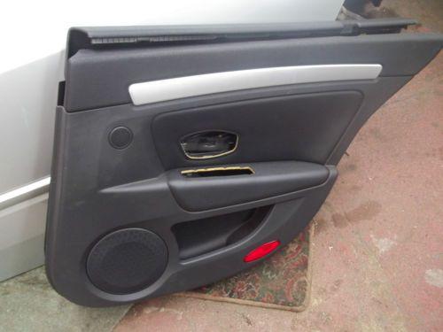 2009-Renault-Laguna-III-Right-Rear-Interior-Door-Panel-Trim ...