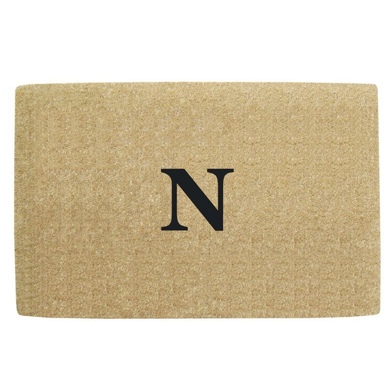 Enterprises Heavy Duty No Border Doormat - Monogrammed