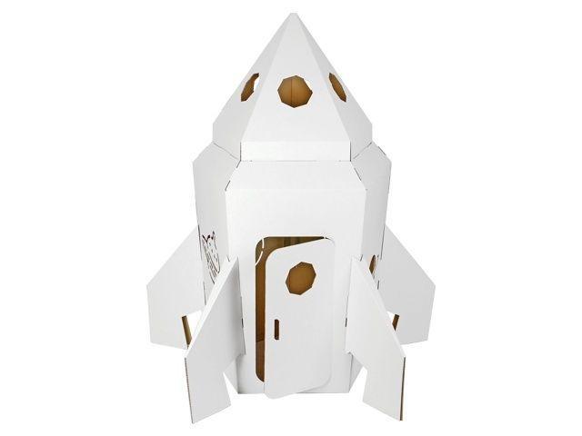 Rakete Aus Pappe Raumschiff Aus Karton Spielhaus Zum