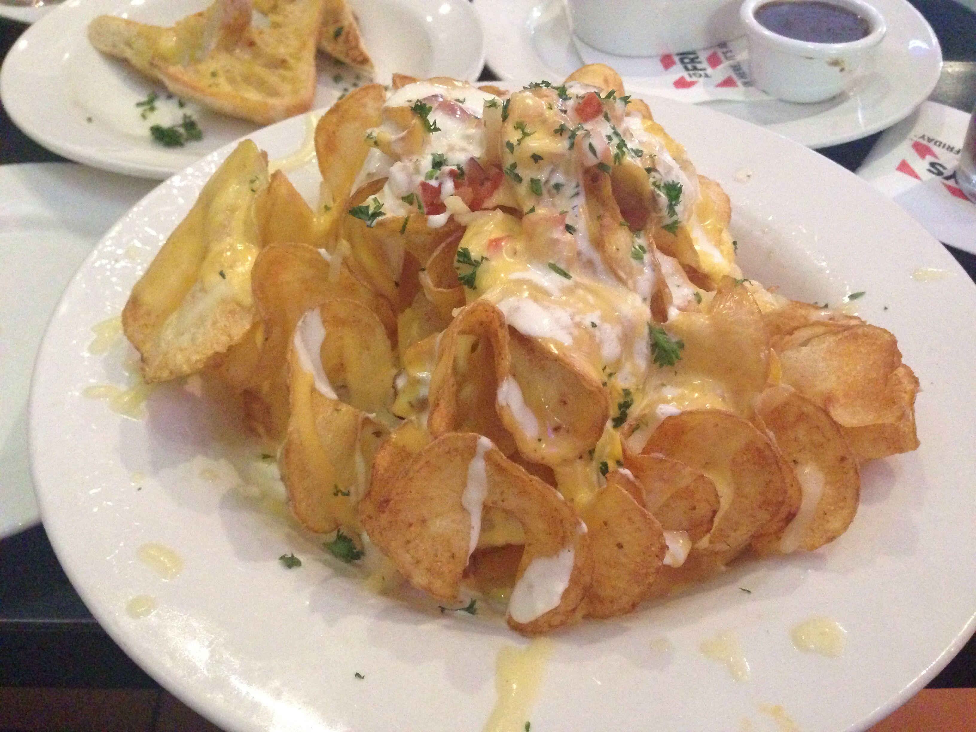 Potato Twisters At Tgi Fridays Food Food Drink Recipes