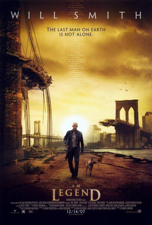 HTD Canada I Am Legend Movie Poster 27 x 40   Cine.   Pinterest ...