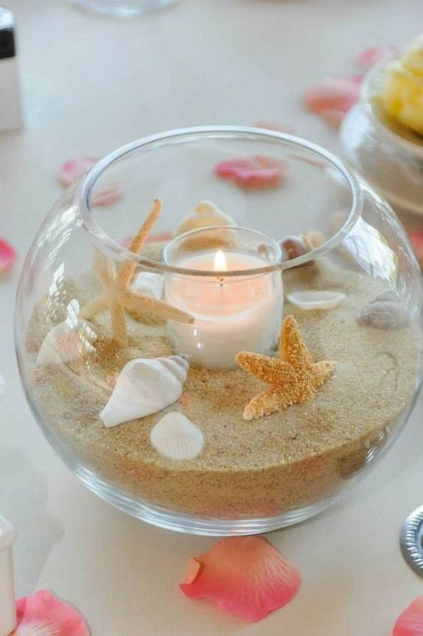 DIY decorations with seashells – inspiration and imagination