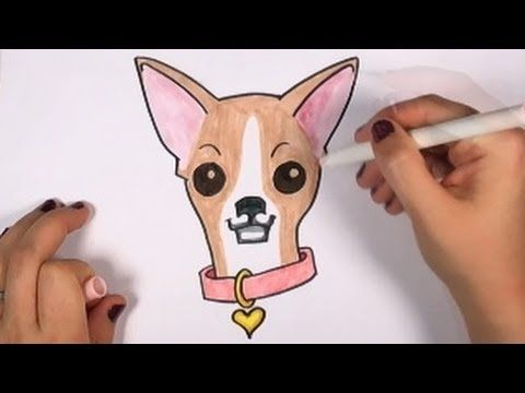 How To Draw A Chihuahua Cute Dog Drawing Lesson Cc Youtube This