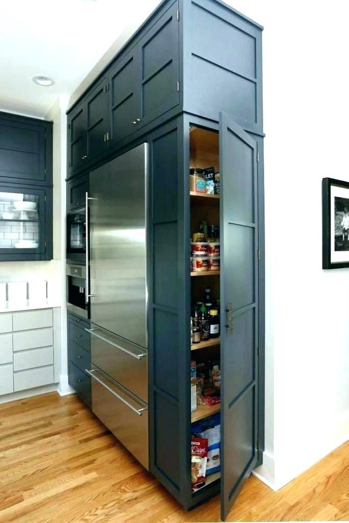 Hidden Refrigerator Hidden Fridge In Kitchen Refrigerator Door