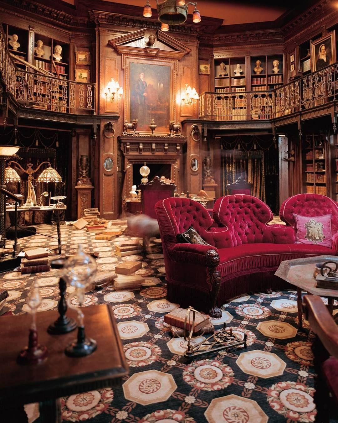Victorian Library Room: Www.steampunktendencies.com