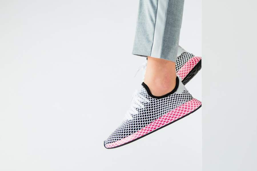 more photos 5b55c 6bbfd adidas - Deerupt Runner W (schwarz  pink) - CQ2909