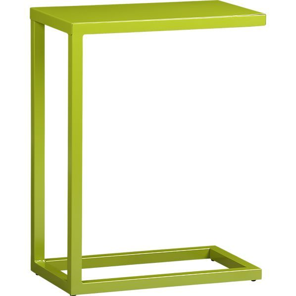 Green C Table In Side, Coffee Tables | Crate And Barrel