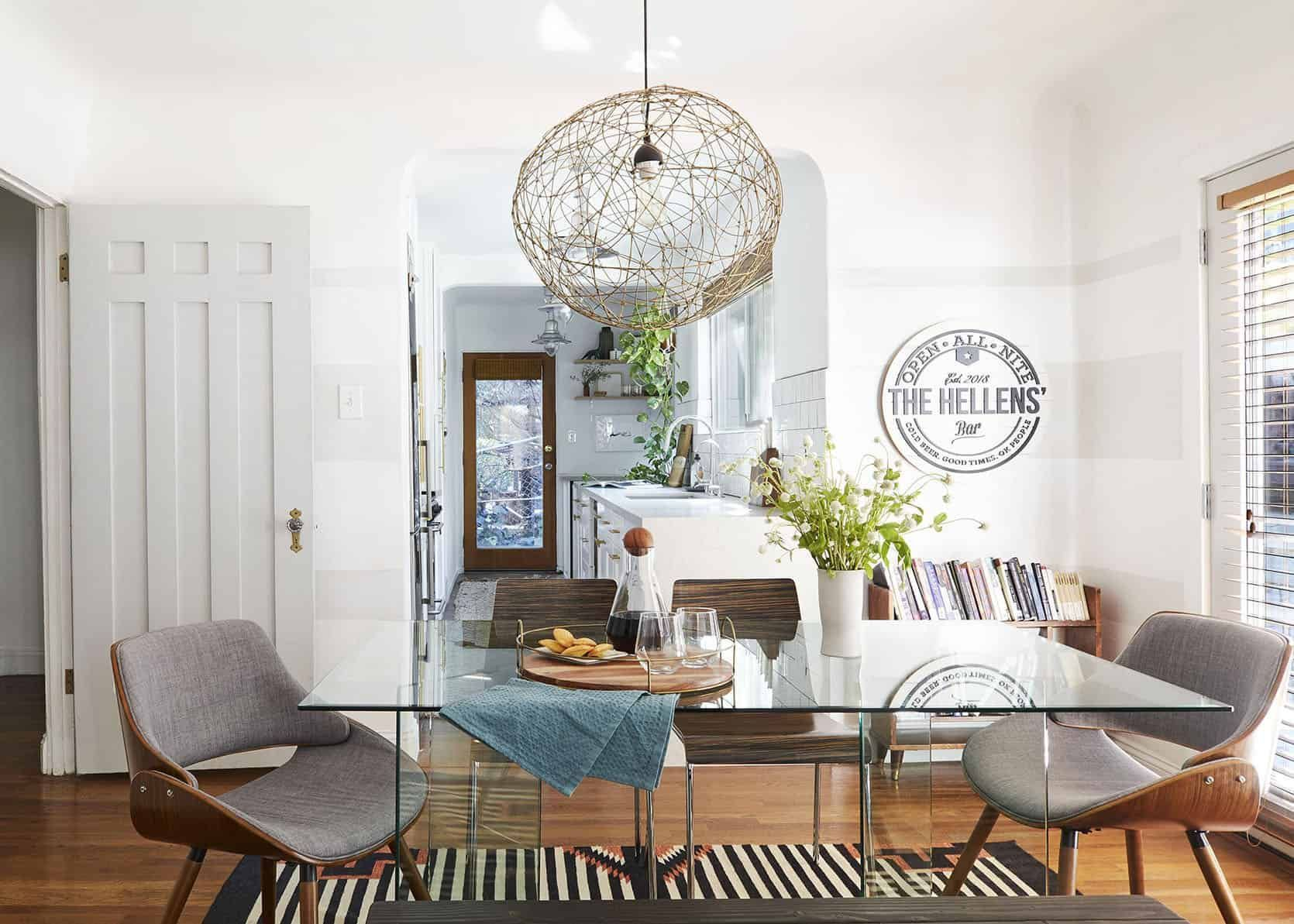 Is Buying A House Right Now A Good Idea Plus A Step By Step Guide For First Time Buyers Emily Henderson In 2020 Living Dining Room Emily Henderson Living Room Dining Room Table
