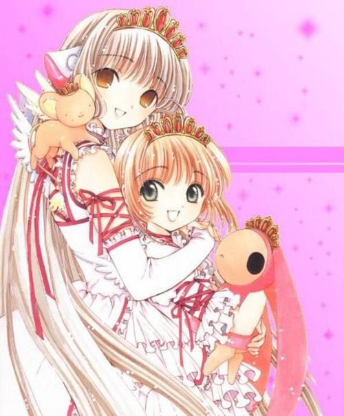 Chii With Sakura Kinomoto - Clamp