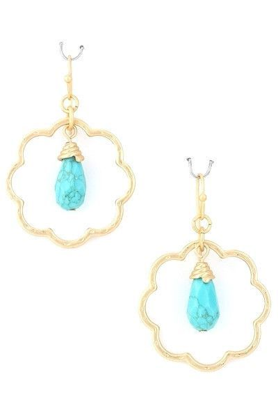 Serendipity Turquoise Drops