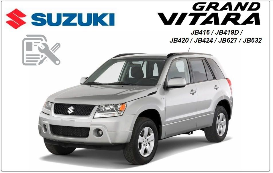 Suzuki Grand Vitara 2008 Repair Service Manual Suzuki Grand Vitara 2008 Repair Grand Vitara Suzuki Car Repair Service