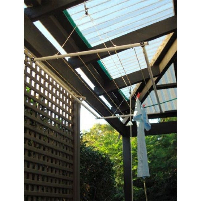 versaline up away 210 ceiling mounted washing line. Black Bedroom Furniture Sets. Home Design Ideas