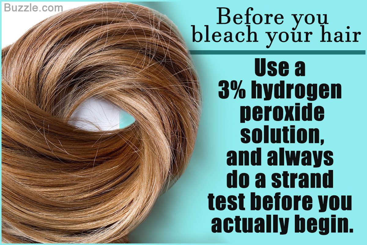 Using Hydrogen Peroxide For Bleaching Hair Is Affordable And Gives Good Results However Hydrogen Peroxide Can Be D Bleached Hair Peroxide Hair Skin Bleaching