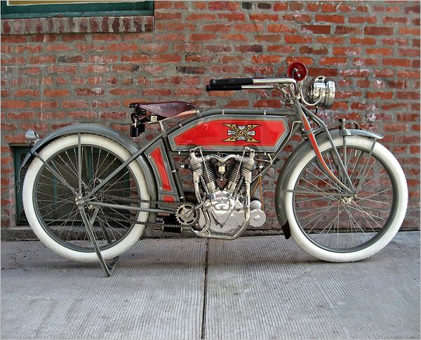 1913 Excelsior Big Twin Vintage Bikes Classic Motorcycles Car Collection
