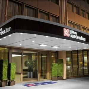 Hilton garden inn times square hotel new york ny entrance also snowy owl rooms full service continental breakfast