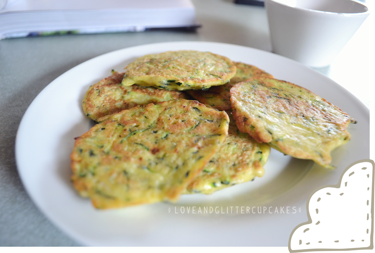 recipe: quick and easy zucchini fritters