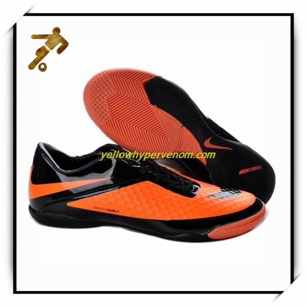 Nike Hypervenom Phantom Ic Men Soccer Shoes Orange Black Citrus