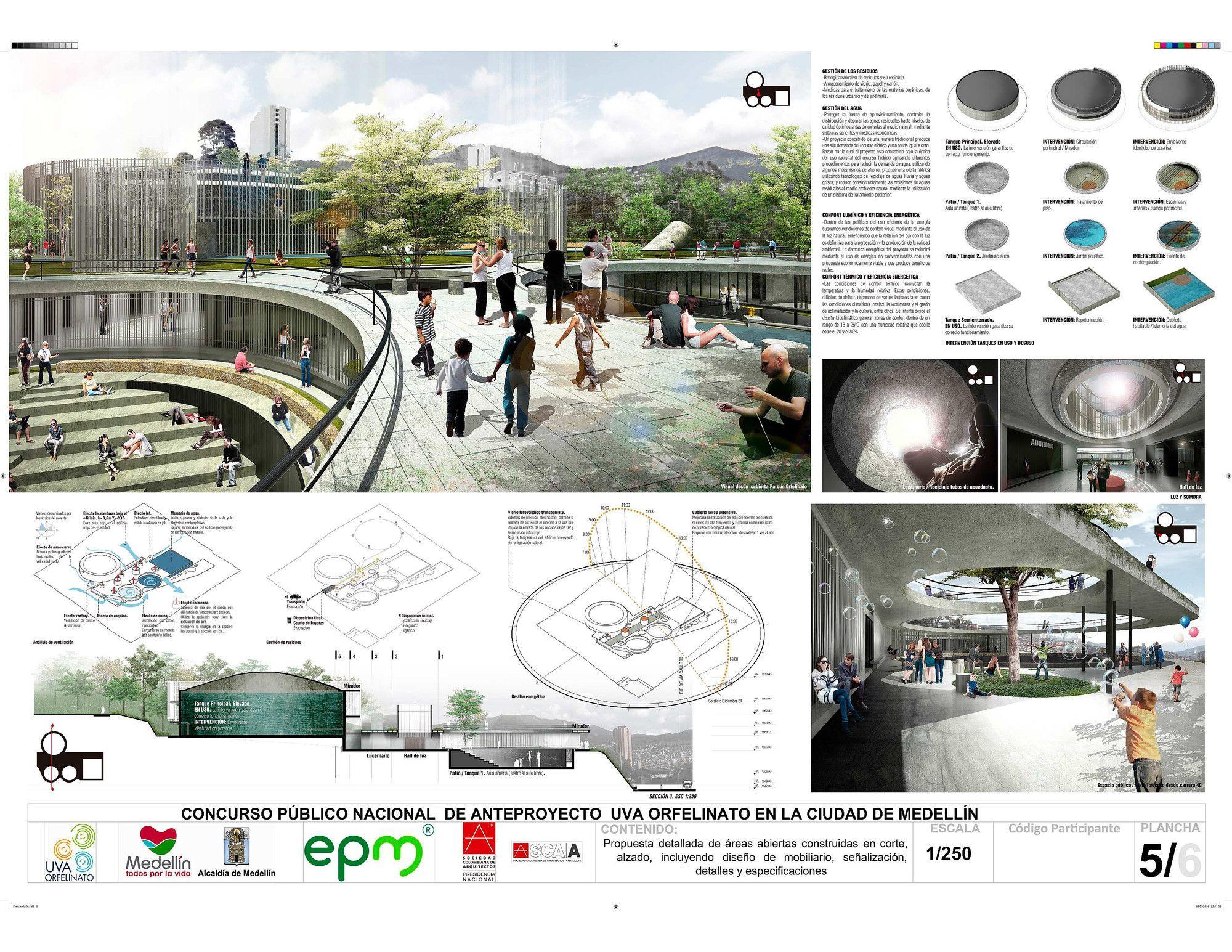 Galeria Primer Lugar Concurso Nacional Uva Orfelinato En La Ciudad De Medellin 15 Dibujo De Arquitectura Ciudad De Medellin Presentacion Arquitectonica