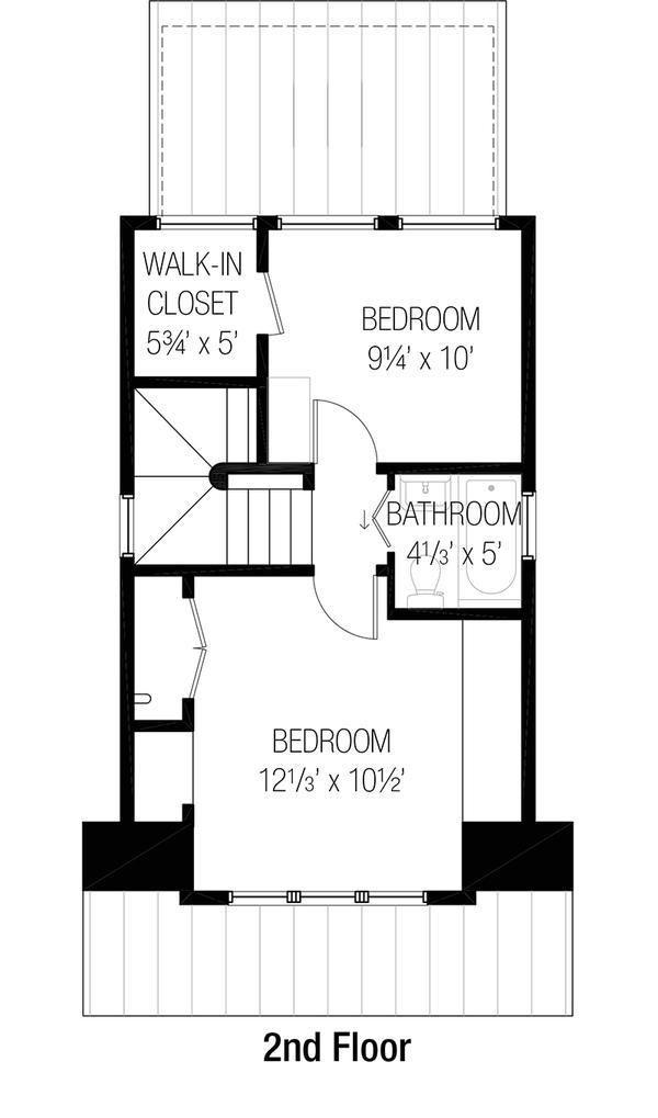 planos de casas de dos pisos de 81 metros cuadrados