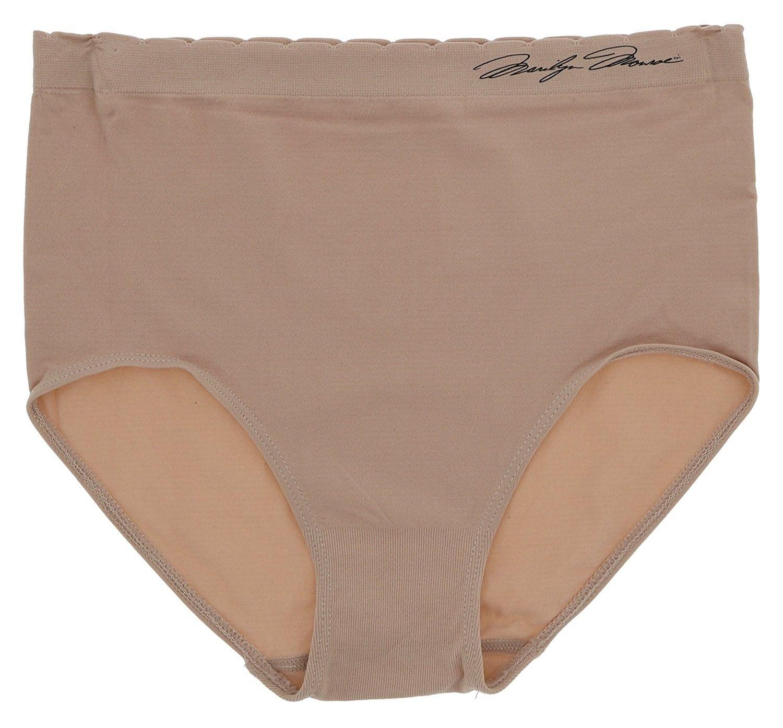 83b69776262 Intimates Women s Microfiber Seamless Hi-Rise Brief Underwear ...
