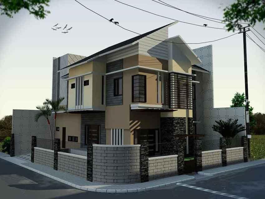 Desain Rumah Minimalis  Lantai Hook Jpg