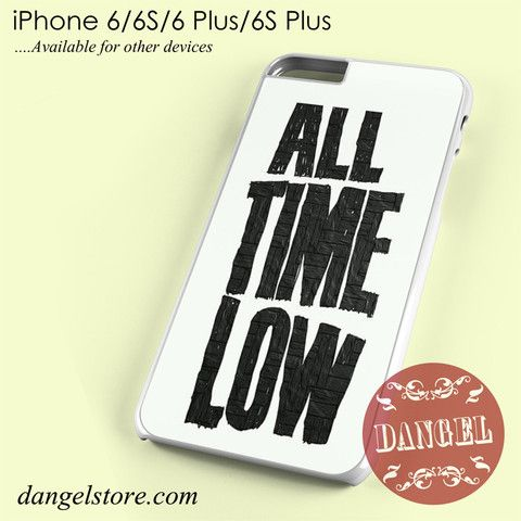 ALL TIME LOW BAND iphone case