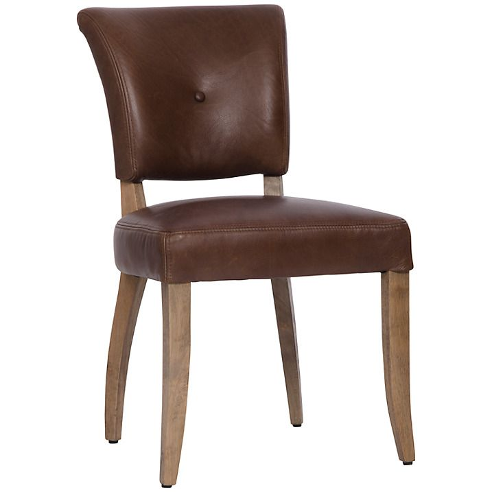 Amazing Halo Harvard Leather Dining Chair Old Saddle Mocha Dining Pabps2019 Chair Design Images Pabps2019Com