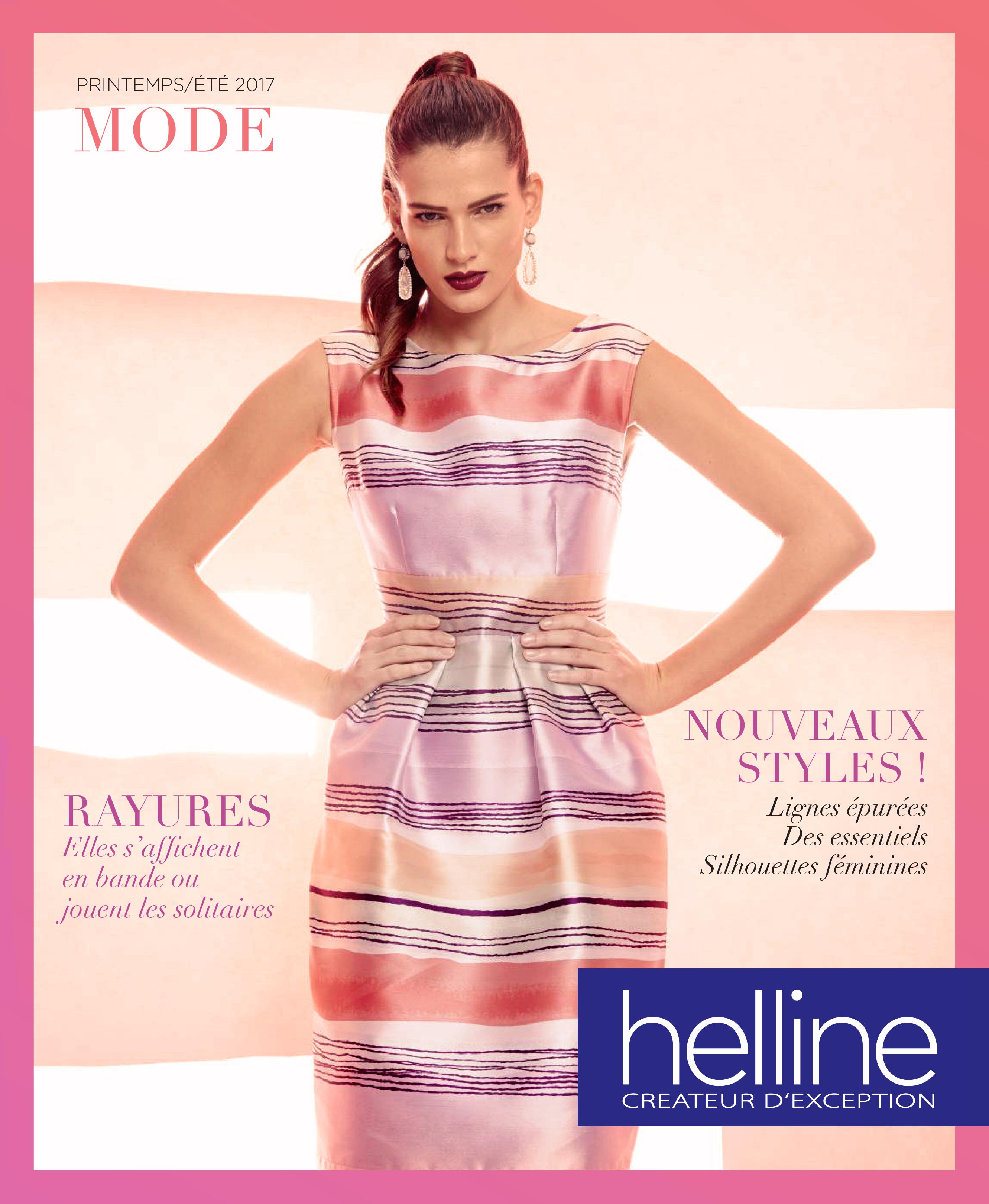 Catalogue Helline Printemps Ete 2017 La Rayure Fait Dans La Bonne Humeur Mode Printemps Ete Ete 2017