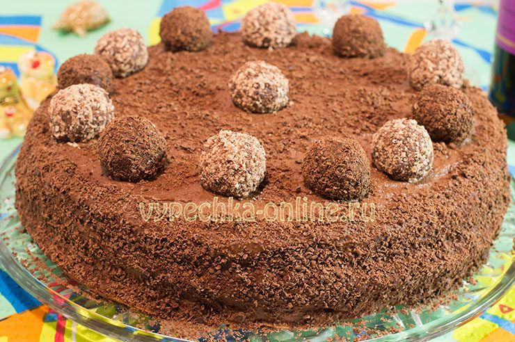 Крем Рецепт Для Шоколадного Бисквита   492x740