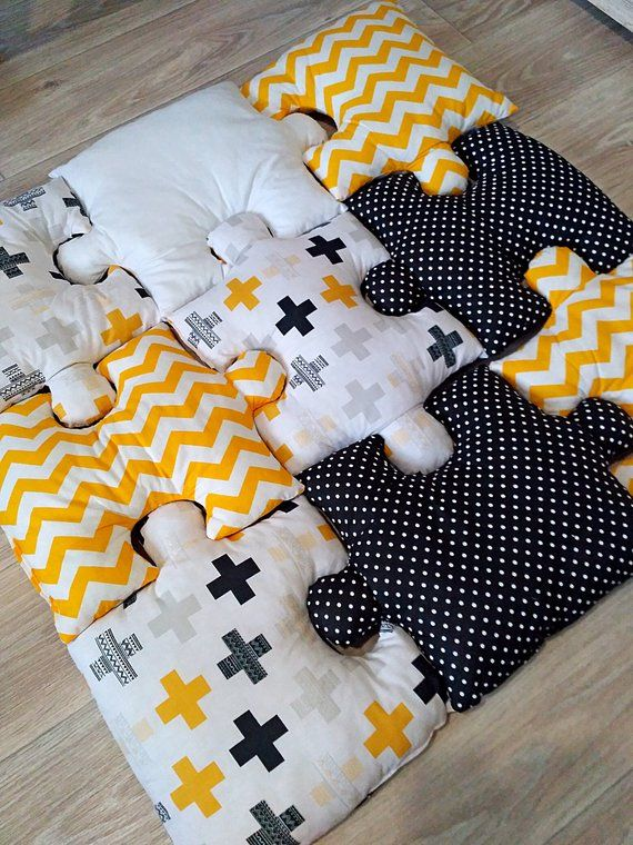 Puzzle Baby Play mat  in Scandinavian style