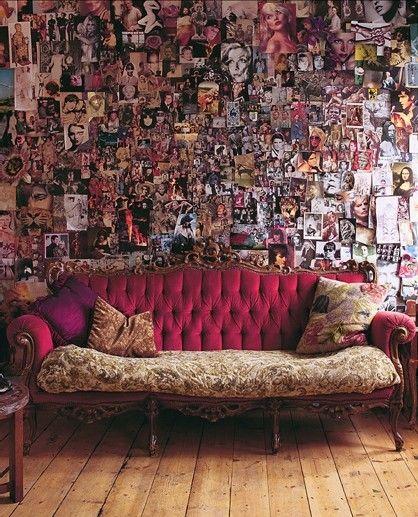 Inspirationen zur wanddekoration bilder sofa mit kissen - Wanddekoration bilder ...