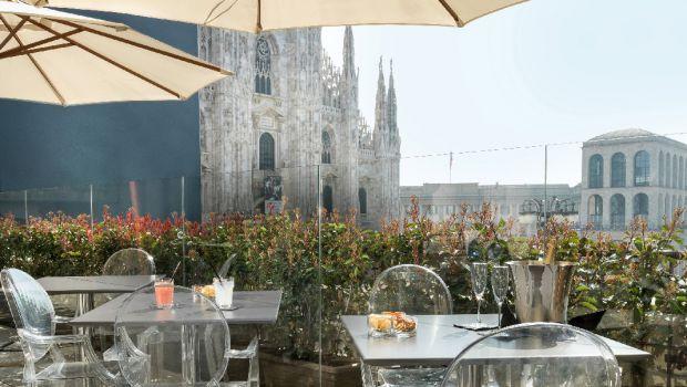 Duomo 21 Terrazza Milano Apre Il Nuovo Spazio Ristorante