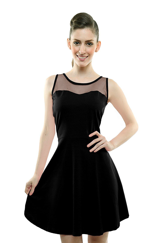 9415c5389ef Miss Chase Women's Cotton Skater Dress | Dresses - Western Wear ...