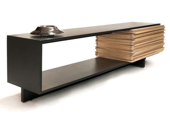 Wohnzimmer Möbel Holz Buffet-Schrank Stack-Esrawe Studio Do Furns - Schrank Für Wohnzimmer