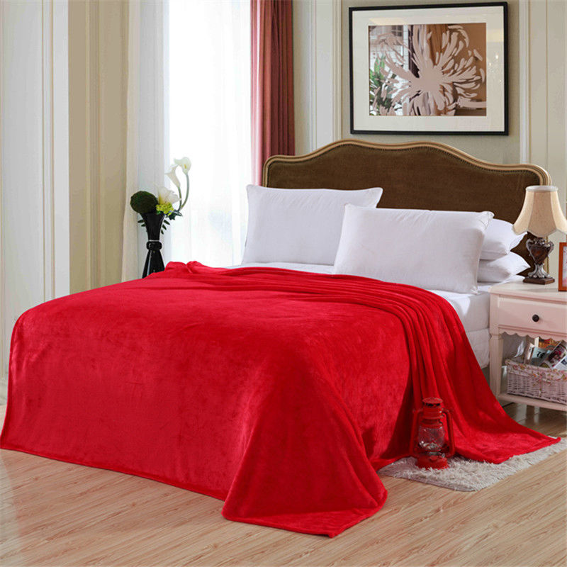 Throws Multiple Size Warm Microplush Throw Blanket Rug Plush Fleece Bed Quilt Sofa Home Furniture Diy Goldenvillainn Com