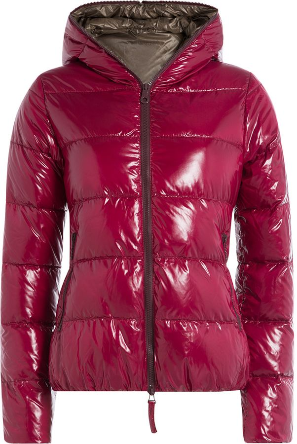 Duvetica Down Jacket with Hood | Jacken, Lila jacke und