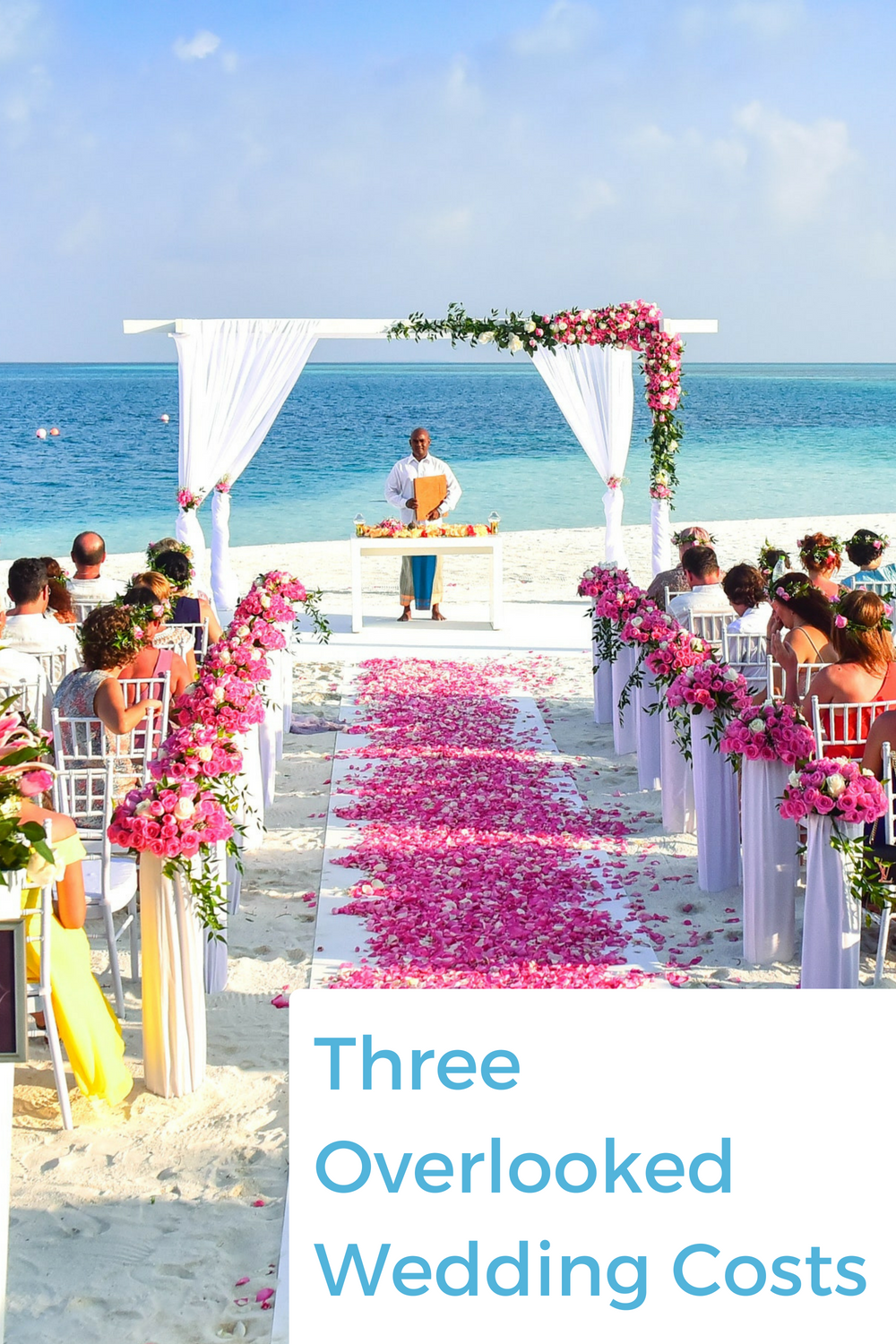 Three wedding costs that you will not believe existed